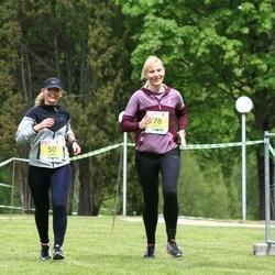4. Kekkoneni jooks - Eliise Abel (50), Angela Järvpõld (78)