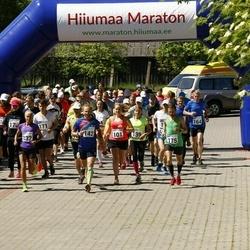 Hiiumaa VII jooksumaraton - Susan Reinholm (101), Priit Parts (142), Kalev Õisnurm (163), Caroline Laane (170), Mihkel Pugri (171), Andero Sopp (175)