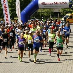 Hiiumaa VII jooksumaraton - Raido Raspel (129), Tiina Tross (132), Priit Parts (142), Kalev Õisnurm (163), Andero Sopp (175)