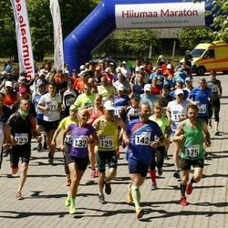 Hiiumaa VII jooksumaraton - Ilmar Kukk (123), Raido Raspel (129), Tiina Tross (132), Priit Parts (142), Kalev Õisnurm (163), Andero Sopp (175)