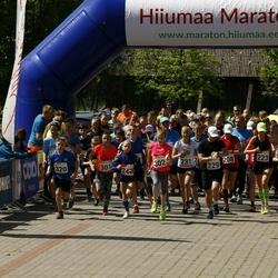 Hiiumaa VII jooksumaraton - Liina Silluste (223), Sass Saat (229), Madis Annus (234), Lisett Alt (301), Anna Maria Raspel (302), Herta Kesküla (303), Sten Kerk (320)