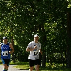 Hiiumaa VII jooksumaraton - Olav Mets (116), Kaidar Viikman (128)