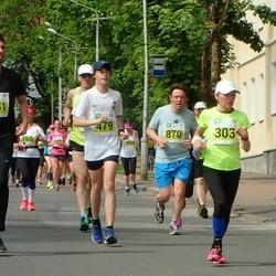 Narva Energiajooks - Irja Bernard (303), Artur Võlu (479), Valmar Vallimäe (870), Mihkel Väin (1151)