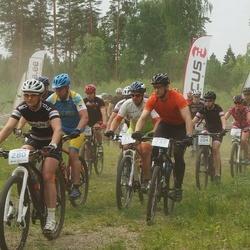 Märjamaa VII rattamaraton - Maris Paju (204), Martin Kelement (237), Jaanika Koitla (280)