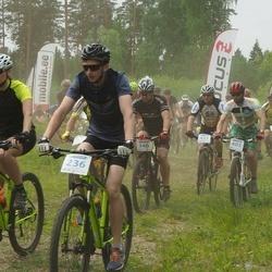 Märjamaa VII rattamaraton - Jaanus Keerberg (346), Enriko Eelmäe (405)