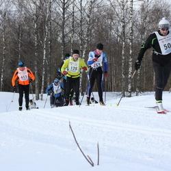 41. Haanja maraton - Asse Hang (128), Kaino Valdre (503), Bruno Münter (611)
