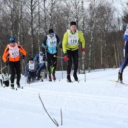 41. Haanja maraton - Asse Hang (128), Tõnu Ernits (584), Bruno Münter (611)