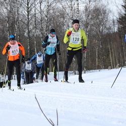 41. Haanja maraton - Asse Hang (128), Geidi Kruusmann (453), Bruno Münter (611)