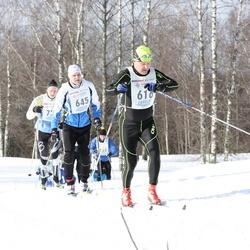 41. Haanja maraton - Andis Pirktins (616), Jaanus Urb (645)