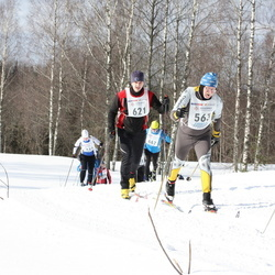 41. Haanja maraton - Anatoly Efimov (563), Kaspar Lood (621)