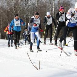 41. Haanja maraton - Tanel Papp (556), Taivo Tolli (619), Eeva Avik (743), Tarmo Roose (761)