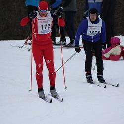 41. Haanja maraton - Tanel Uudeberg (172), Aare Ärmpalu (1033)