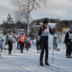 41. Haanja maraton - Bruno Münter (611), Iljar Kabral (669), Valdo Essmann (690), Einar Raudkepp (696)