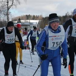 41. Haanja maraton - Reimo Rannu (705), Linda Pärnpuu (750), Ander Raud (765)