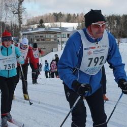 41. Haanja maraton - Reine Koppel (738), Ago Allik (792)