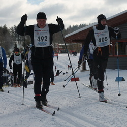 41. Haanja maraton - Nigul Olspert (405), Ago Allik (792)