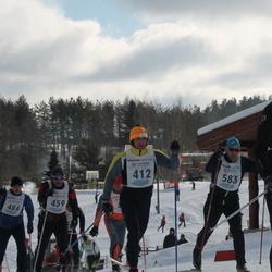41. Haanja maraton - Anatoli Babkin (412), Jaan Joonas (583)