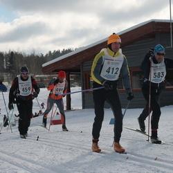 41. Haanja maraton - Anatoli Babkin (412), Urmas Voitka (459), Jaan Joonas (583)