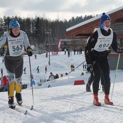 41. Haanja maraton - Anatoly Efimov (563), Andres Saetalu (694)