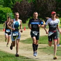 Paide triatlon - Risto Pintmann (57), Henri Rüüsak (71)