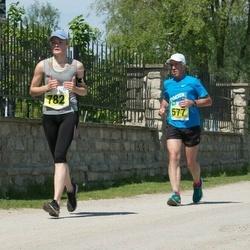 Narva Energiajooks - Bruno Münter (577), Tiina Mõniste (782)