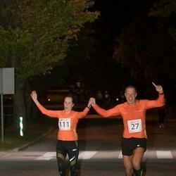 Elva Südaööjooks - Margus Merivälja (27), Külli Pirksaar (111)