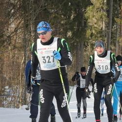 41. Haanja maraton - Tanel Veeremaa (310), Agris Peedu (327)
