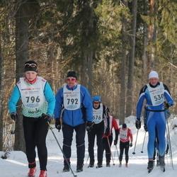 41. Haanja maraton - Gert Klaaser (530), Ago Allik (792), Kadri Lehtme (796)