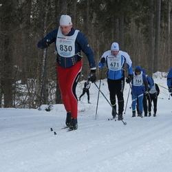 41. Haanja maraton - Kert-Robert Nõmme (671), Agris Sipkovs (830)
