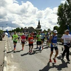 Pärnumaa Võidupüha maraton - Ingrid Lindenberg (69), Pille Saluvere (120)