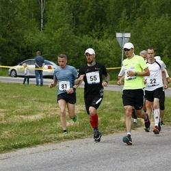 Pärnumaa Võidupüha maraton - Arno Bester (22), Erko Kurvits (55), Marek Mustonen (81)