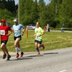 Pärnumaa Võidupüha maraton - Jan Golõnski (28), Priit Rebane (114), Aleksandr Zurbi (132)