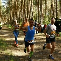Pärnumaa Võidupüha maraton - Aado Metsis (324), Urmo Kesküla (481)