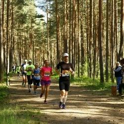 Pärnumaa Võidupüha maraton - Kristiina Nurk (344), Aarne Vasarik (470)