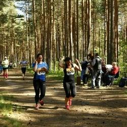 Pärnumaa Võidupüha maraton - Annika Alas (202), Grete Arumäe (206)