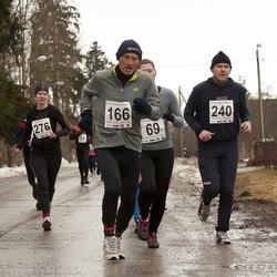 Tartu Parkmetsa Jooks - Raivo Meier (166), Ando Sõrmus (240), Külli Kori (276)