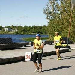Pärnumaa Võidupüha maraton - Ivan Sebek (121), Mari-Liis Kaljur (250)