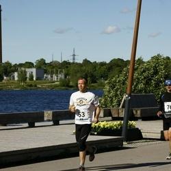 Pärnumaa Võidupüha maraton - Meelis Koskaru (53), Ergo Meier (76)