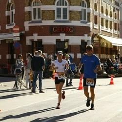 Pärnumaa Võidupüha maraton - Laura Koppas (272), Aivar Koppas (273)