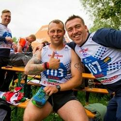 Vägilase jooks Tartu - Aaron Evans (103), Simon Hazard (107)