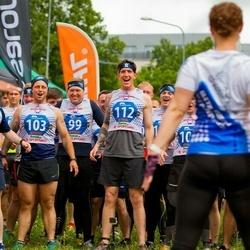 Vägilase jooks Tartu - Vincent Eaglestone (99), Aaron Evans (103), Russel Penny (109), Paul Hunt (112)
