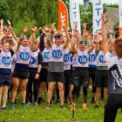 Vägilase jooks Tartu - Aaron Evans (103), Lawrence Mayne (104), Joshua Beagle (106), Russel Penny (109), Paul Hunt (112)