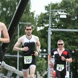 Tartu Mill Triathlon - Andre Mägi (81), Reimo Tamm (107)
