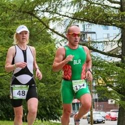 Tartu Mill Triathlon - Marika Rohtla (48), Anatoli Novikau (134)