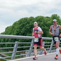 Tartu Mill Triathlon - Aleksandrs Lobanovskis (118), Arno Tammjärv (204)