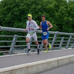 Tartu Mill Triathlon - Margus Heintalu (64), Urmas Peiker (83)