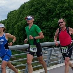 Tartu Mill Triathlon - Denis Astafyev (32), Artur Praun (318)