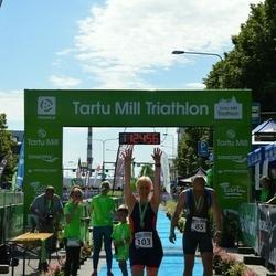 Tartu Mill Triathlon - Andres Anton (85), Kadri-Ann Jundas (103)