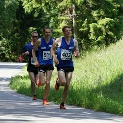 36. jooks ümber Pühajärve - Sander Jürs (403), Tõnu Lillelaid (519)