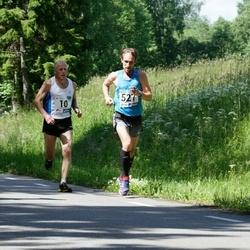 36. jooks ümber Pühajärve - Ago Veilberg (10), Lauri Luik (527)